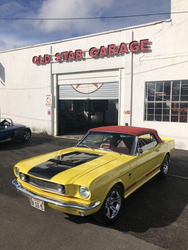 Old star garage