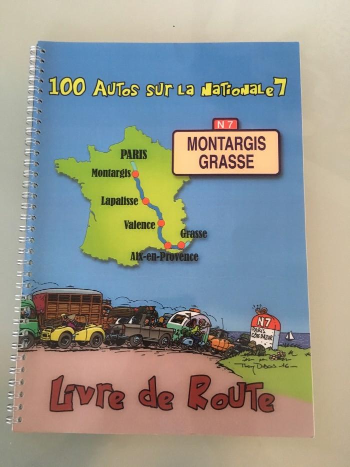 Livre de route (Roadbook) Nationale 7
