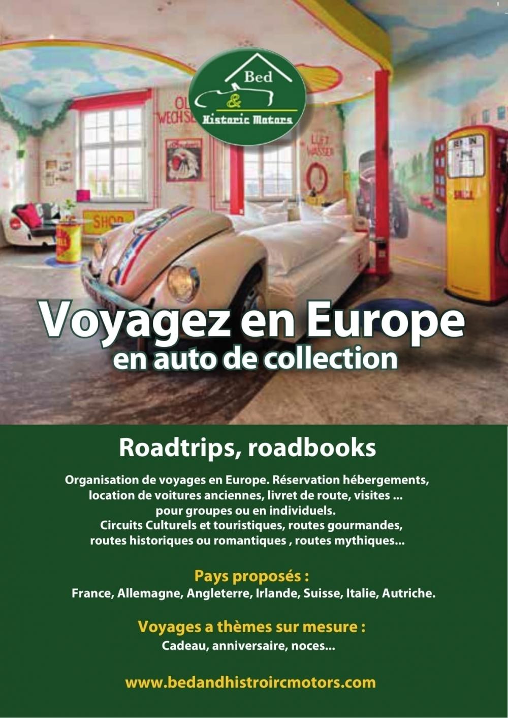 Voyagez en autos de collections