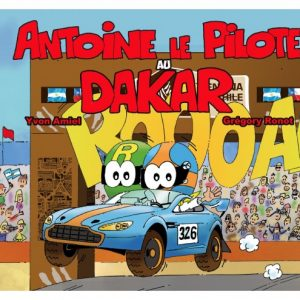 Antoine le pilote au Dakar