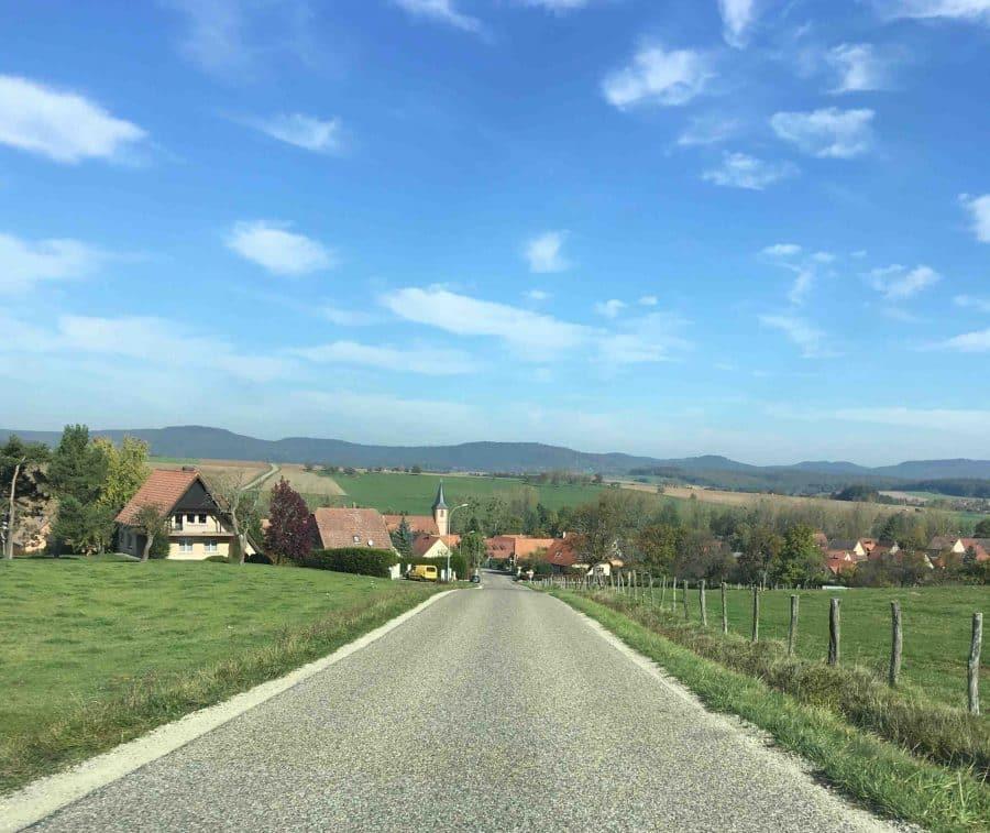 La route des Vins d'Alsace roadtrip