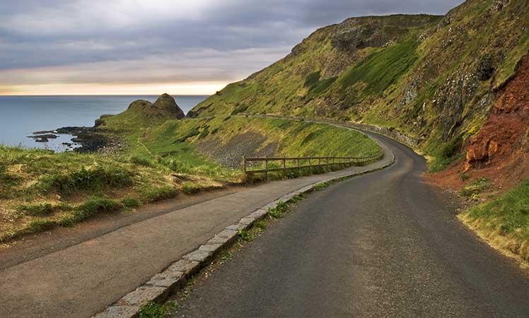 Roadtrip en Irlande la WAW en voiture de collection