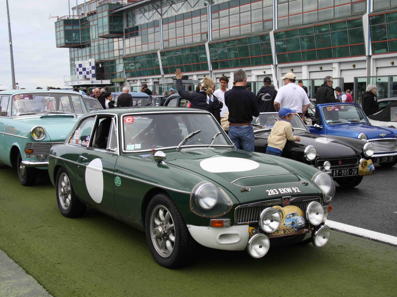 MGC GT équipée rallye à louer