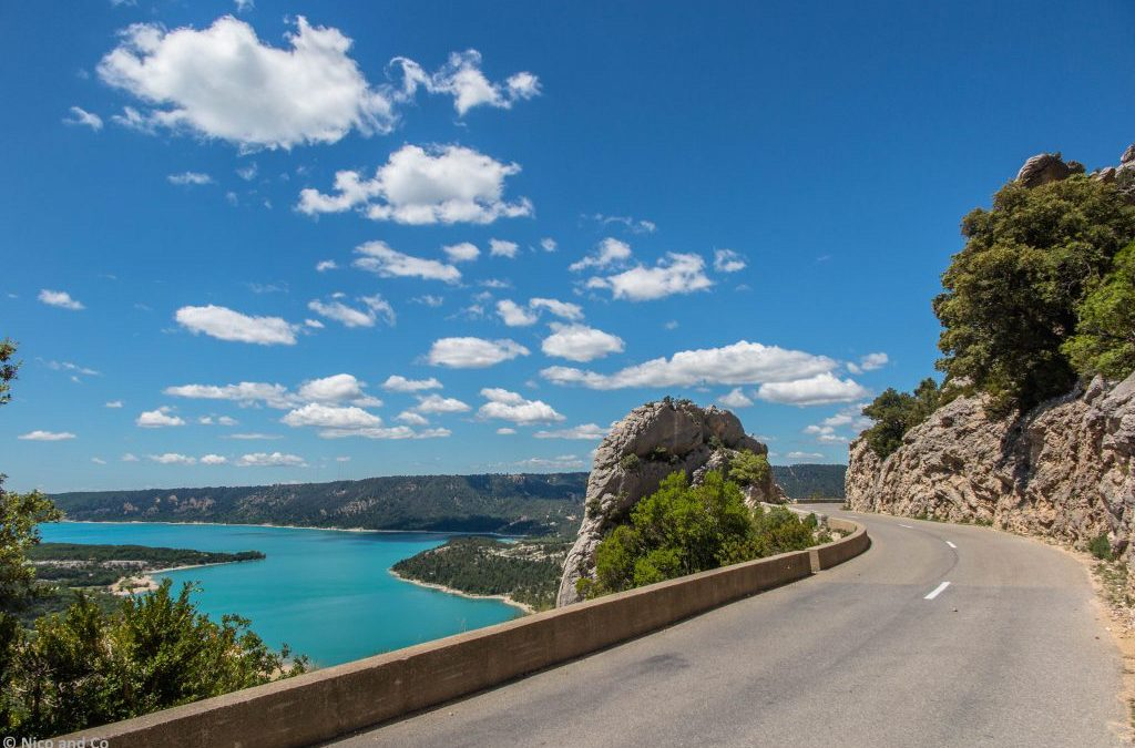 France : La route des gorges du Verdon, un canyon hollywoodien