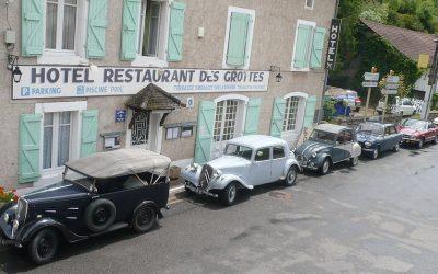 Le tourisme en France voiture de collection